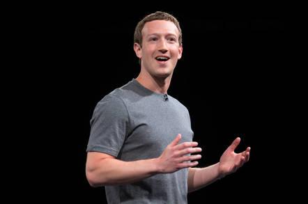 Facebook founder Mark Zuckerberg at Samsung's Galaxy S7 launch
