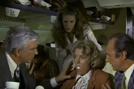 Airplane! Egg scene