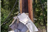 A broken cable box