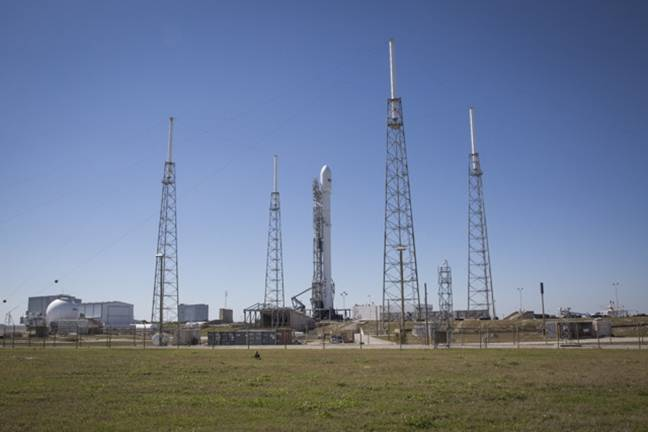 Watch Space X launch tonight at 6:46