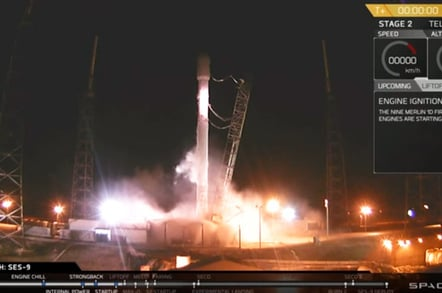 Computers abort SpaceX Falcon 9 launch • The Register