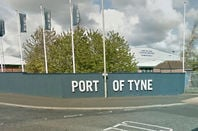 Port of Tyne sign. Google Maps