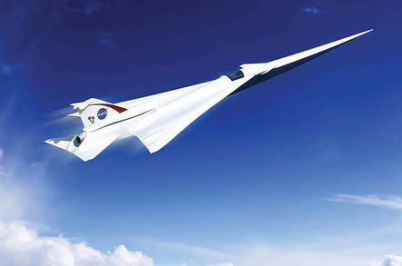 NASA Supersonic Concept