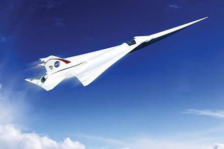 NASA Supersonic Concept