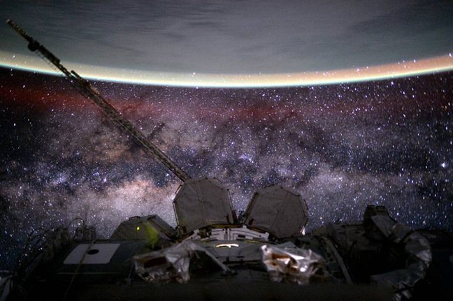 Kelly's view of the Milky Way