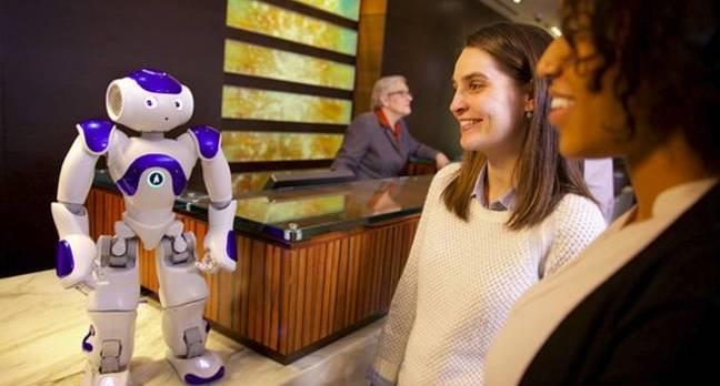 IBM-powered Connie robot