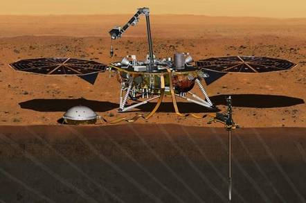 Mars InSight probe