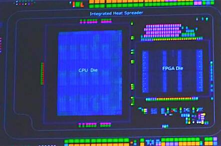 Here's what an Intel Broadwell Xeon with a built-in FPGA