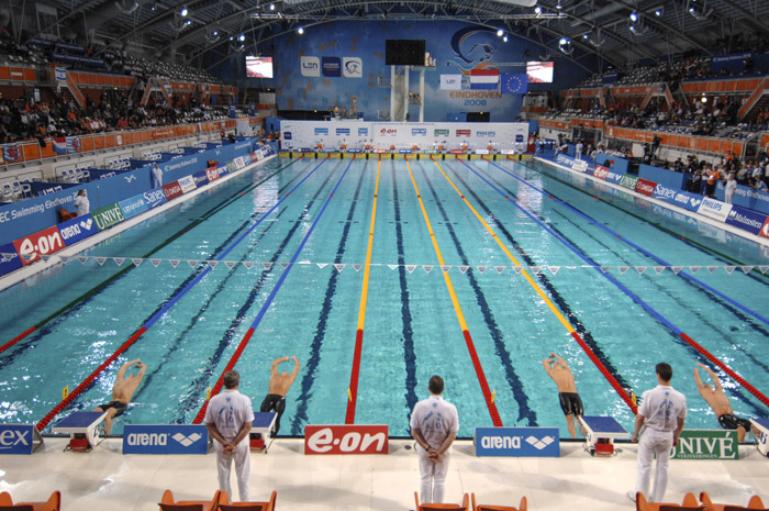 An Olympic Sized Swimming Pool