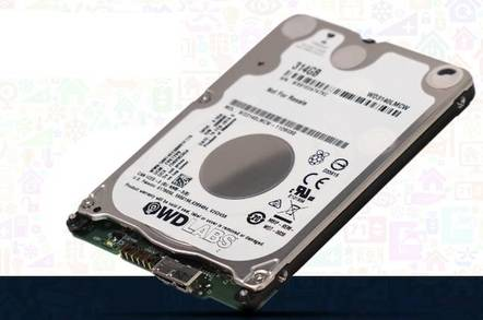 Western Digital PiDrive 314GB