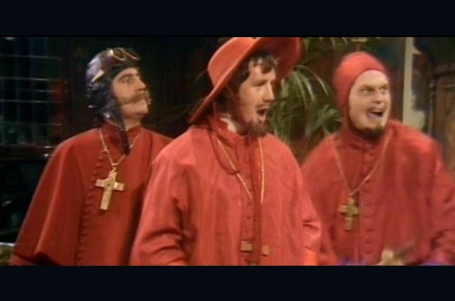Monty Python sketch: Nobody expects the Spanish Inquisition