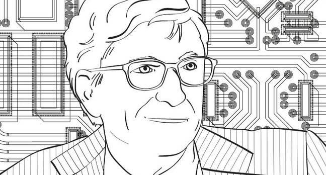 Mindful Bill Gates