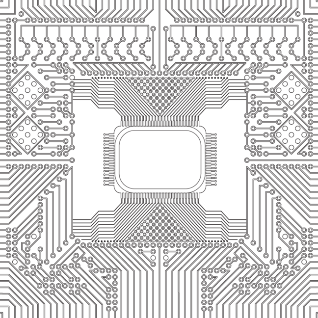 CPU for colouring book