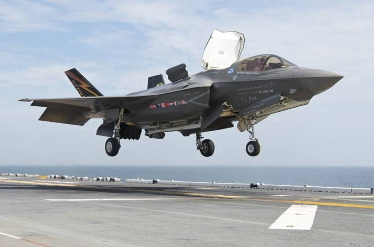 High Rear End Winds Cause F 35a Ground Engine Fire The