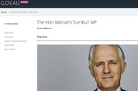 Gov AU alpha applied to pm.gov.au website