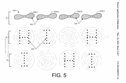Amazon talking blinking drone patent