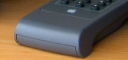 Apple power CD remote bottom end