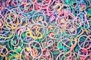 Elastic bands multi-coloured. Photo by Shutterstock