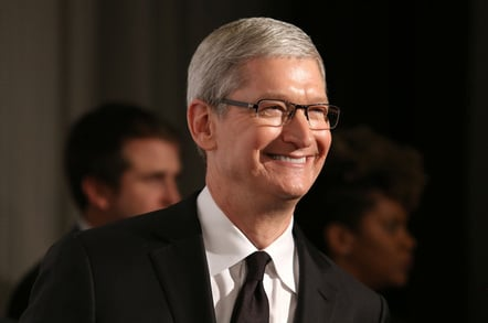 Tim Cook, photo by JStone via Shutterstock