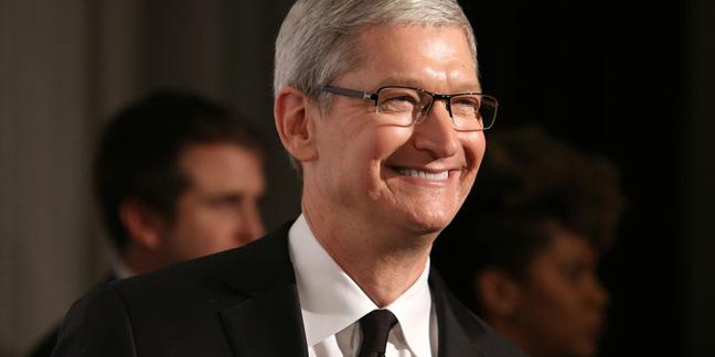 Tim Cook, photo by JStone via Shutterstock