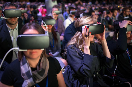 Facebook VR, photo by Facebook