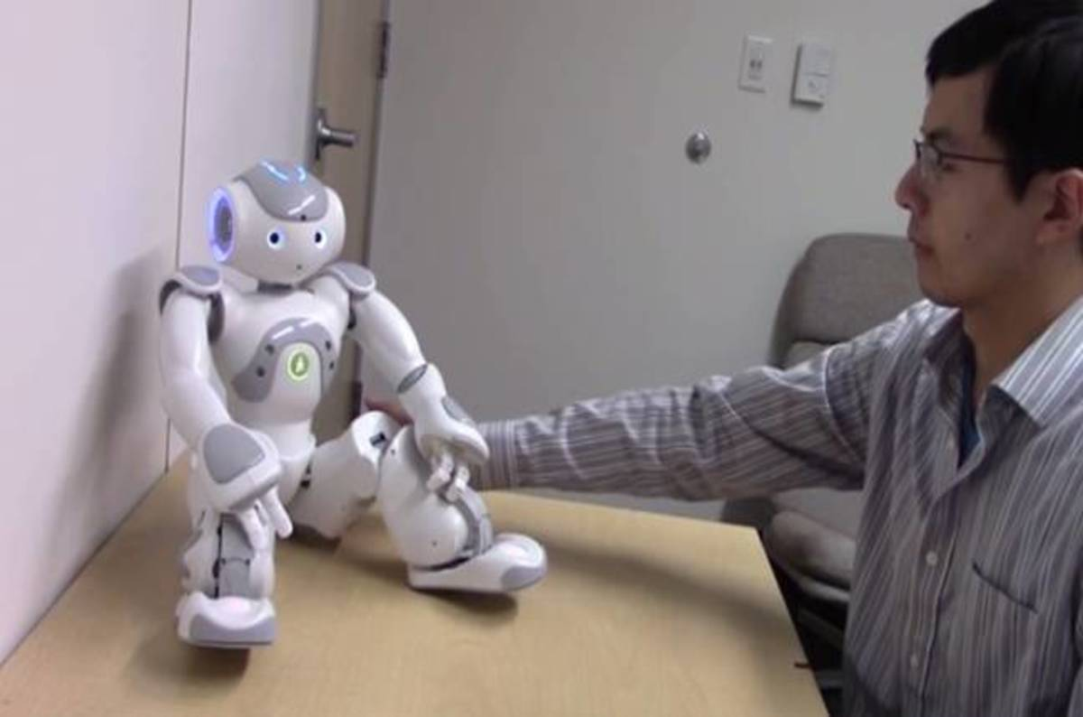 Uber Business Cards >> Humans get 'aroused' fondling robots in their private ...