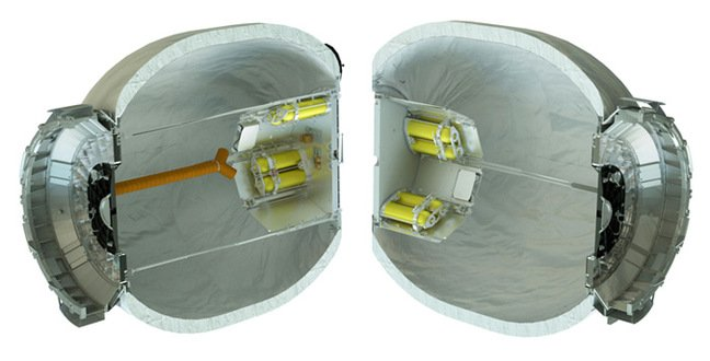 Cut-away view of BEAM. Pic: Bigelow Aerospace