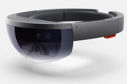 Microsoft's HoloLens Augmented Reality headset