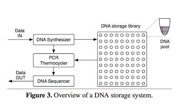 The Uni Washington / Microsoft DNA storage system