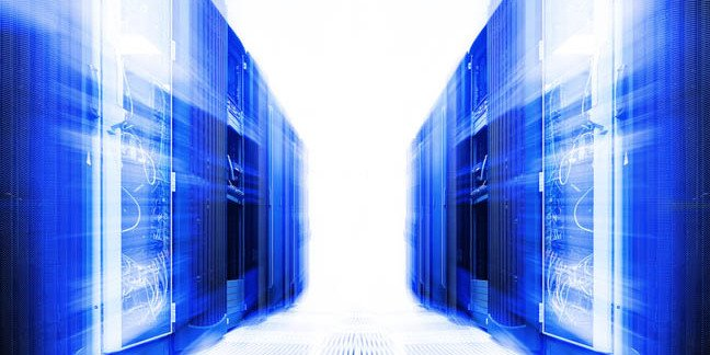 Cloud server room. Photo by Shutterstock