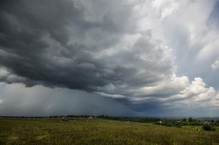 Big cloud, image via Shutterstock
