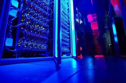Supercomputer, image via shutterstock