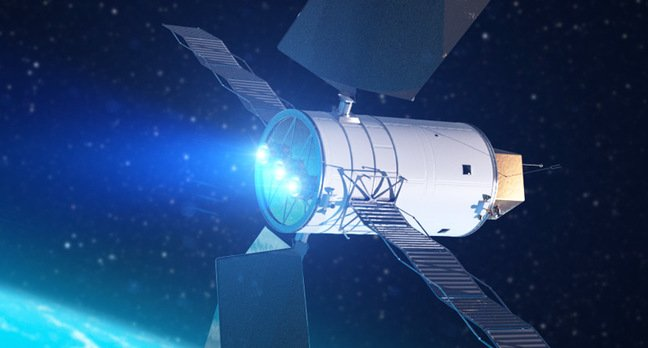 Nasa injects cash into solar electric motor the register for Planet motors on military