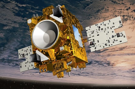 The Microscope satellite. Pic: CNES / D.Ducros
