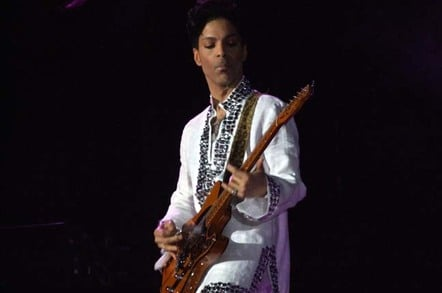 Prince in concert at Coachella 2008. Photo by Scott Penner, licensed under CC-by-SA-2.0
