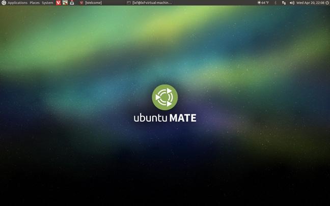 Ubuntu 16.04 Mate