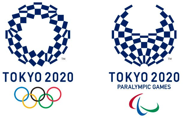 The new Tokyo 2020 Olympic logos
