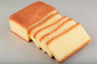 Slices of madeira cake