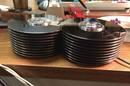 Vintage disk platters