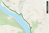 DETAIL ON ORDNANCE SURVEY MAP APP - SUPPLIED BY ORDNANCE SURVEY