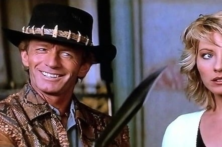 Crocodile Dundee, 20th Century Fox.