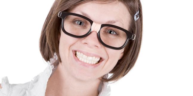 Broken glass girl image via Shutterstock