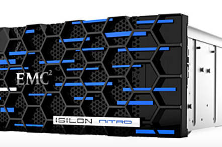 Isilon Nitro all-flash dragster filer to hit the streets in