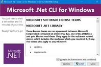 Microsoft's .NET CLI has replaced previous tooling called DNX