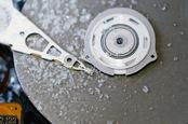 Frozen disc, image via Shutterstock