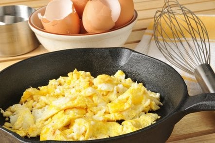Scrambled Eggs from shutterstock