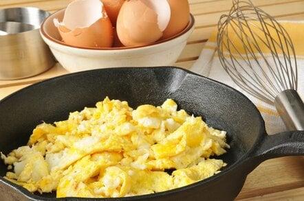 Scrambled Eggs from shutterstock