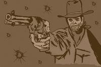 Gunslinger, image via Shutterstock