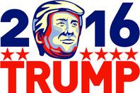 Trump poster, image via Shutterstock