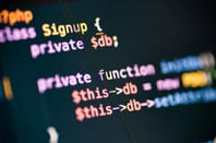 PHP, image via Shutterstock